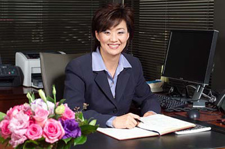 President and Chief Executive Officer Min Kim.
