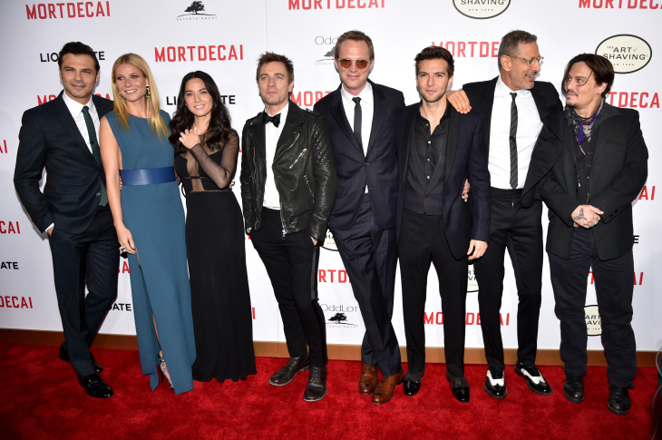 "Premiere Of Lionsgate's ""Mortdecai"" - Red Carpet"