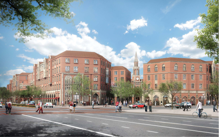 USC breaks ground on $650 million expansion, USC Village, which will be finished in the fall of 2017.