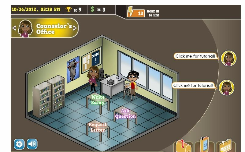 USC's new online role-playing game teaches planning for college application process.