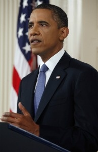President Obama announced that he will order 10,000 troops to pull out of Afghanistan this year, and another 33,000 troops by the end of next summer on June 22, 2011 in Washington, D.C.