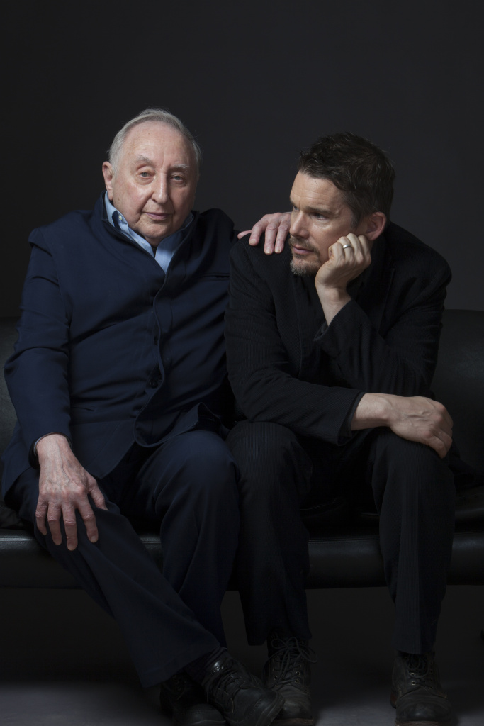 Seymour Bernstein and Ethan Hawke were fast friends when they met at a dinner party.