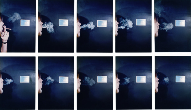 """Cigar Smoke to Match Clouds That Are the Same,"" by John Baldessari."