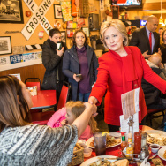 Hillary Clinton Campaigns Iowa As State's Caucus Approaches