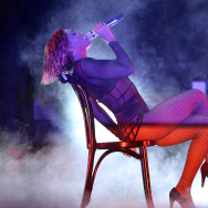 LOS ANGELES, CA - JANUARY 26:  Singer Beyonce performs onstage during the 56th GRAMMY Awards at Staples Center on January 26, 2014 in Los Angeles, California.