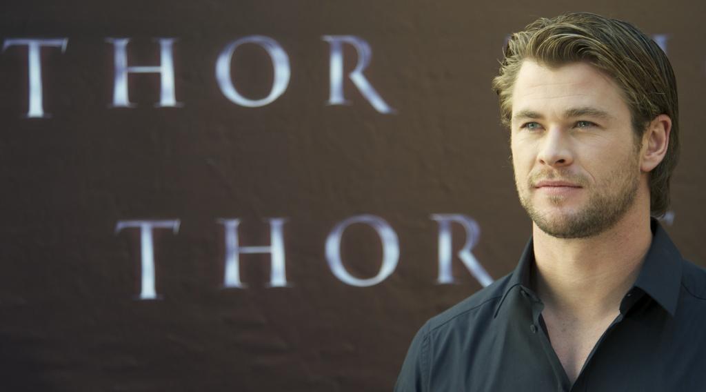 Actor Chris Hemsworth attends