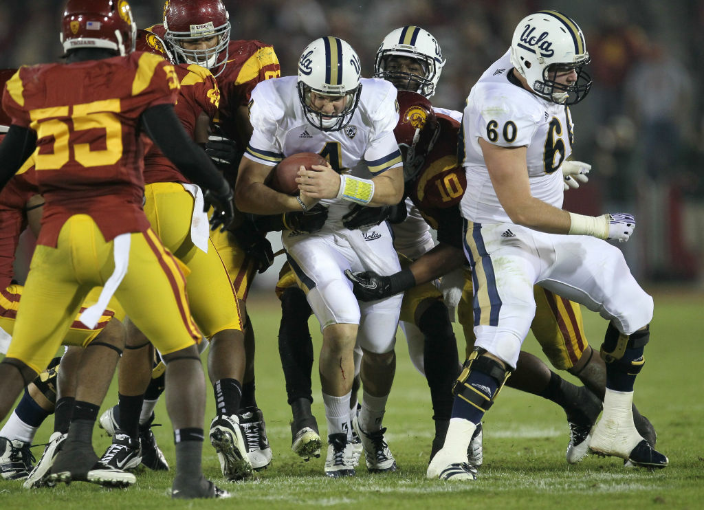 USC-UCLA football game 2012