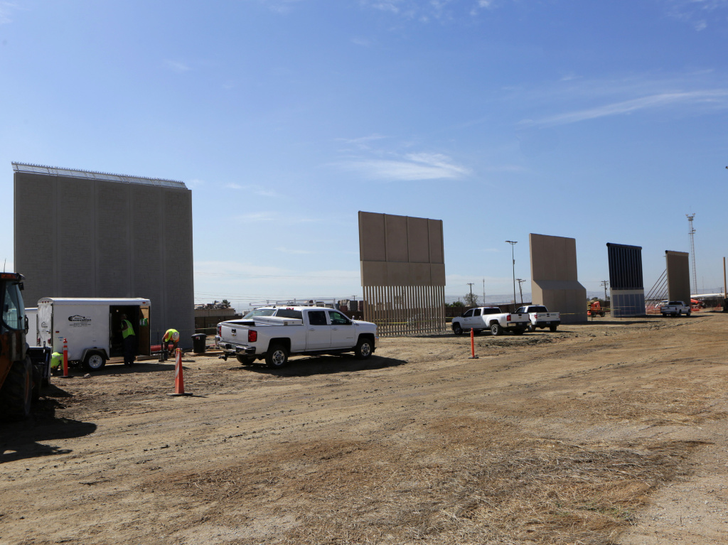 Competitors who are hoping to gain approval to build the border wall have until the first of next month to complete their work.