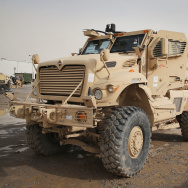 U.S. Soldiers Provide Security Around Kandahar Airfield