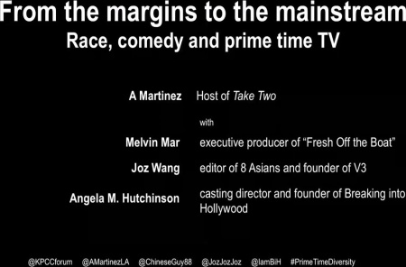 From the margins to the mainstream: Race, comedy and prime time TV