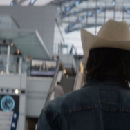 "Detective Ray Velcoro walks into ARTIC, the Anaheim Regional Transportation Intermodal Center for a key meeting in ""True Detective."""