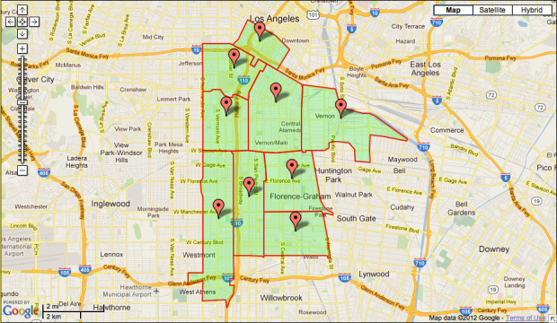 90007 Zip Code Map.New Charter Academy To Offer High School Diplomas For Students Age