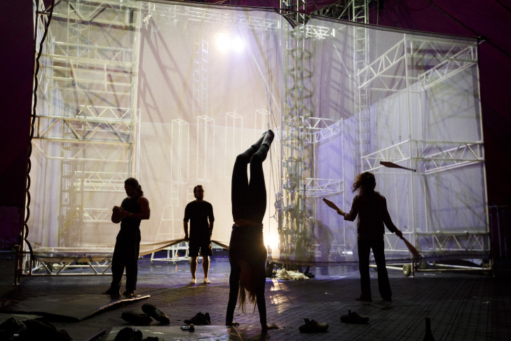 Behind The Scenes At NoFit State Circus: BIANCO