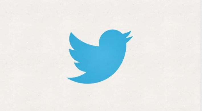 logo twitter word