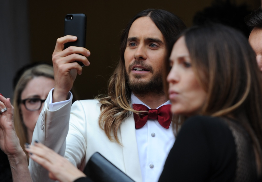 Oscar winner Jared Leto is among the entertainment figures who've lent their support to a new pro-immigration non-profit, Welcome.US. Others include hip-hop mogul Russell Simmons, L.A. Mayor Eric Garcetti, and singer Michael Bolton.