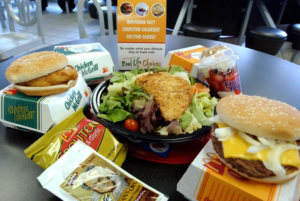 Are healthier options at Fast Food Restaurants a good thing?