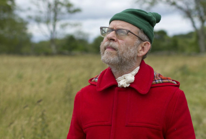 Actor Bob Balaban as the narrator of Wes Anderson's film