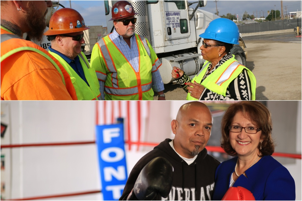 Cheryl Brown and Eloise Reyes vie to represent the Inland Empire in Sacramento.