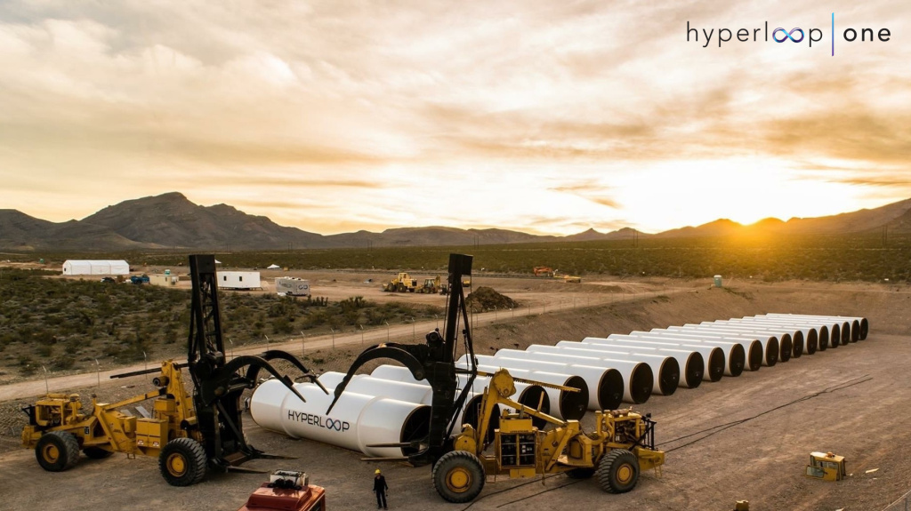 Tech startup Hyperloop One is trying to build a new mode of transportation that would involve pods moving at very high speeds through a tube. It will be testing part of its technology on Wednesday in the Nevada desert.