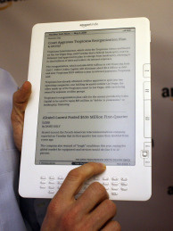The Amazon Kindle is one of the top selling e-readers on the market.