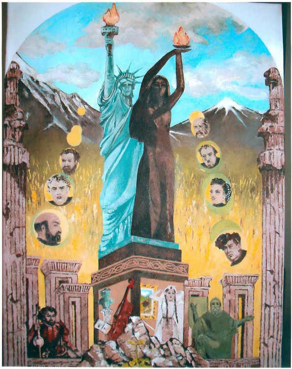 Anita Garouni's painting