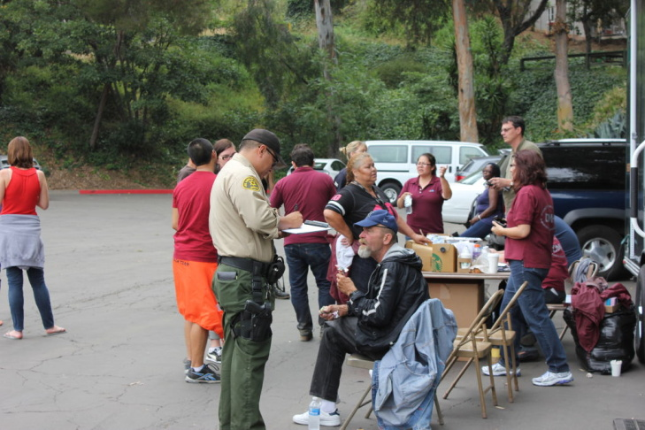 homeless outreach operation