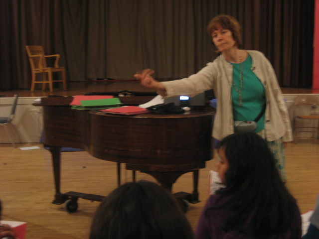 L.A. Unified music teacher Eloise Porter has received a preliminary layoff notice.