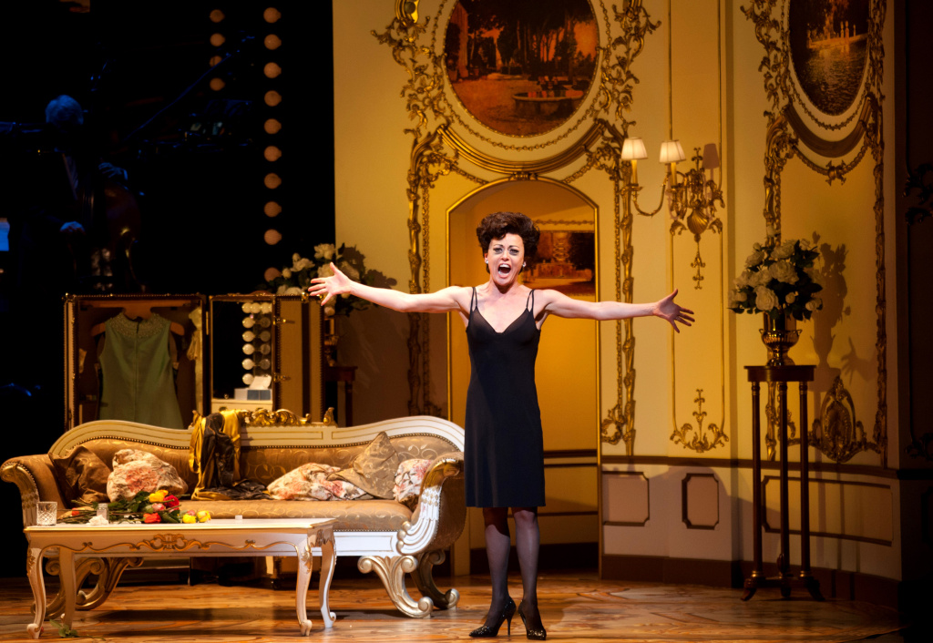 Tracie Bennett pictured onstage at the