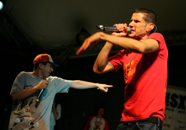 Mike D and Adam Yauch of the Beastie Boys perform at 20th Annual SXSW Film and Music Festival.