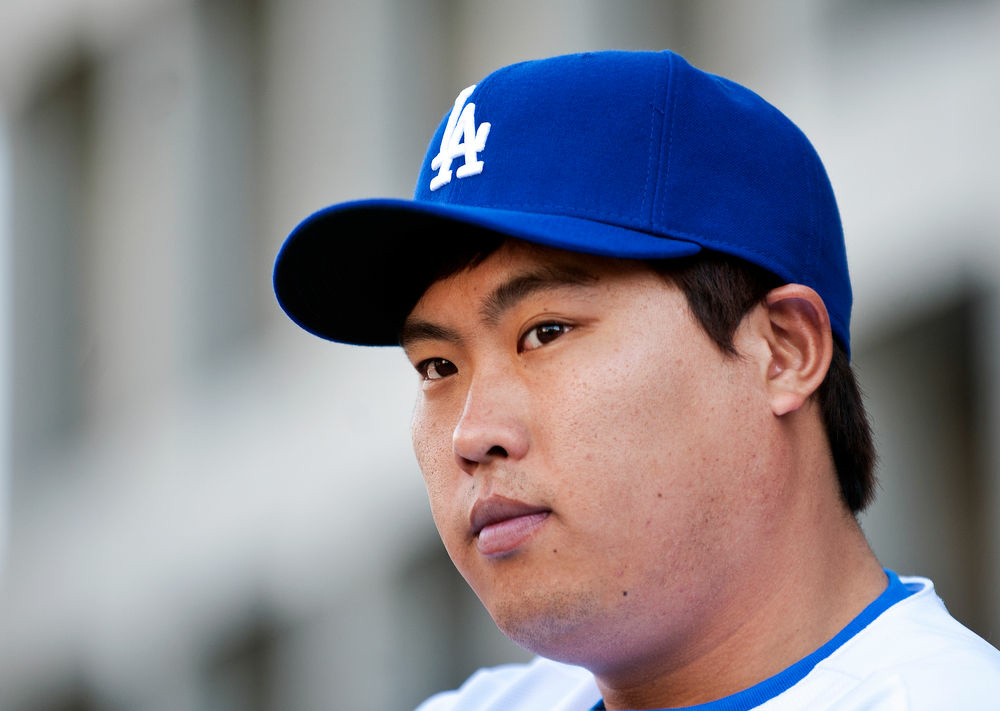 Ryu is the first player to go directly from a Korean professional league to the major leagues in the U.S. He signed a six year, $36 million contract with the Dodgers.