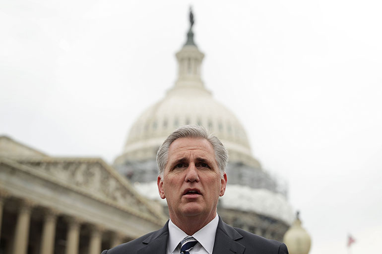 U.S. House Majority Leader Rep. Kevin McCarthy has echoed other Congressional Republicans' call to repeal the Affordable Care Act first and work out a replacement later.