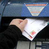 election voting vote Mail-in ballot