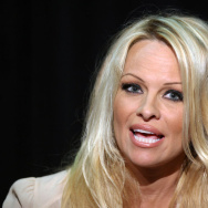 Canadian born US actress Pamela Anderson