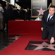 US-ENTERTAINMENT-HOLLYWOOD WALK OF FAME-JIMMY KIMMEL