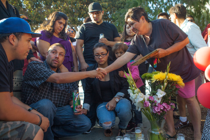 Santa Monica College Shooting Vigil
