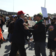 Fistfights, Protests Reported At California GOP Convention