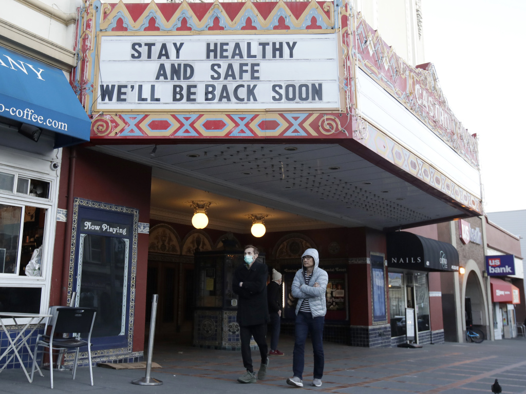 Cities including San Francisco are telling residents to stay home, contributing to increased use of video chats and other online communications.