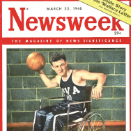 In the late 1940s, wheelchair basketball became a national phenomenon. One game sold out Madison Square Gardens.