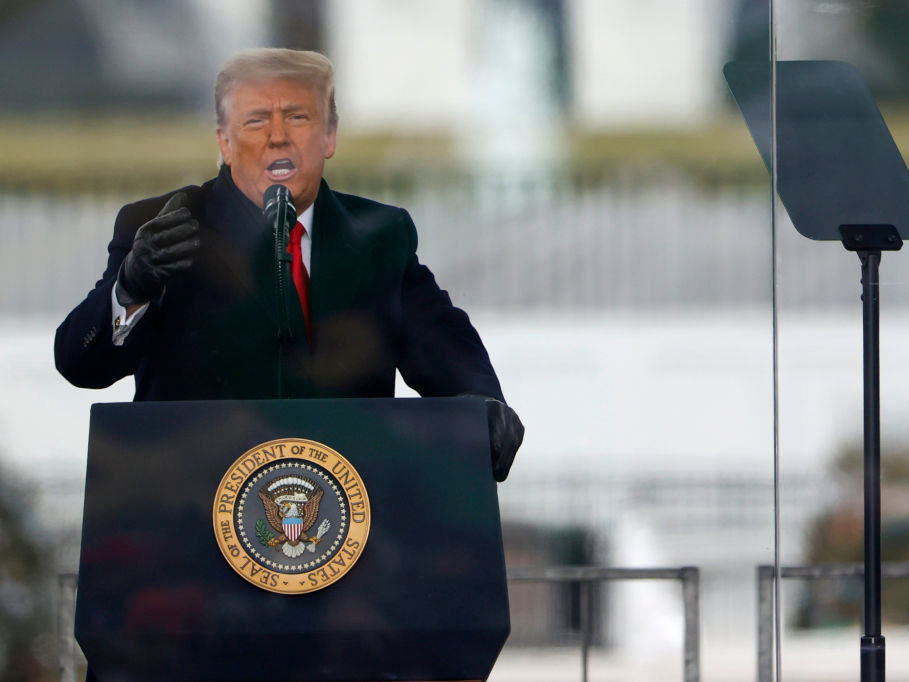 President Trump is said to be considering pardoning himself, but constitutional scholars say he doesn't have the power to do so.