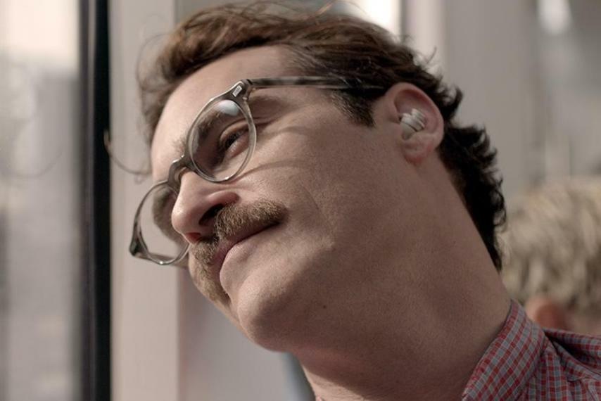 Joaquin Phoenix starred in Spike Jonze's futuristic film,