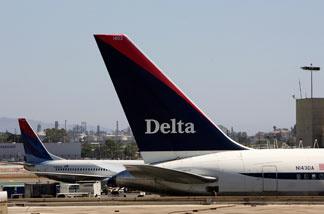 File photo: Delta plane.