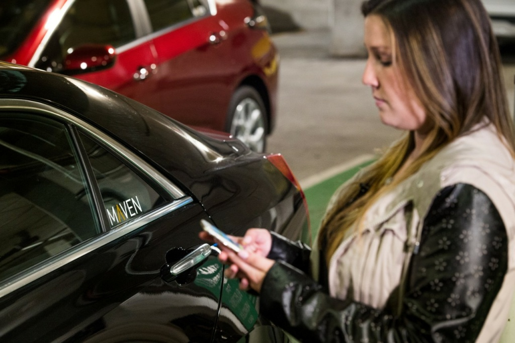 General Motors launches Maven car sharing service in Los Angeles