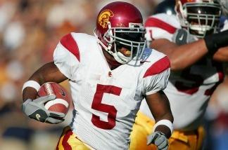 Reggie Bush playing for USC in 2005.