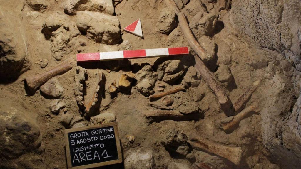 The Italian Culture Ministry said the Guattari Cave in San Felice Circeo was