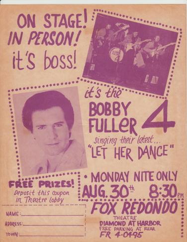Bobby Fuller, 1965