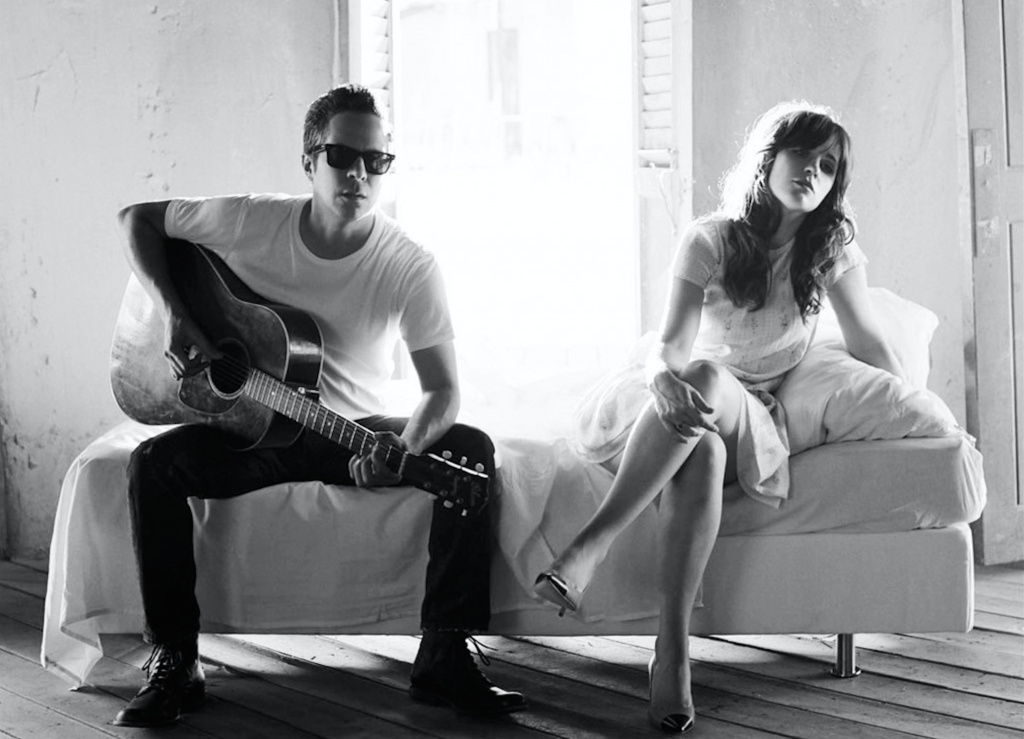 Actress Zooey Deschanel and singer/songwriter M. Ward make up the duo She & Him.