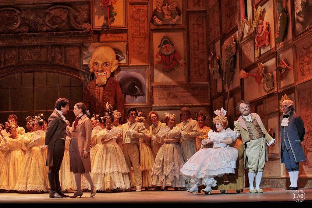 LA Opera's production of Offenbach's