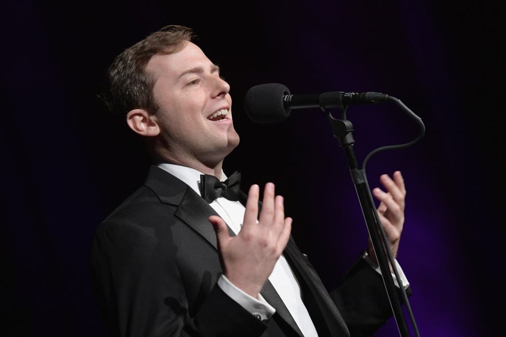 Former Obama speechwriter David Litt speaks on stage during A Moth Summer Night's Dream: The 20th Anniversary Moth Ball at Capitale on June 6, 2017 in New York City.