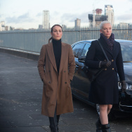 "(L-R) Noomi Rapace and Toni Collette star in ""Unlocked."""
