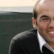 Farhan Zaidi, seen in a screenshot from MLB.com.